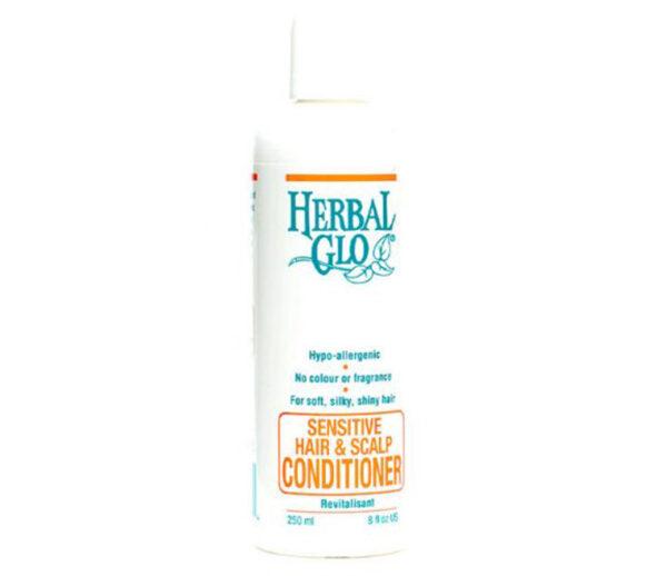 bottle of sensitive scalp conditioner