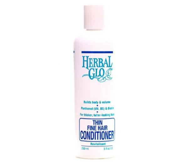 bottle of thin fine hair conditioner
