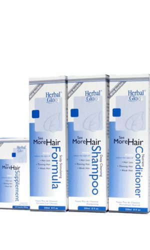 The complete 4-step System of 'See More Hair'