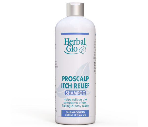 bottle of proscalp itch relief shampoo