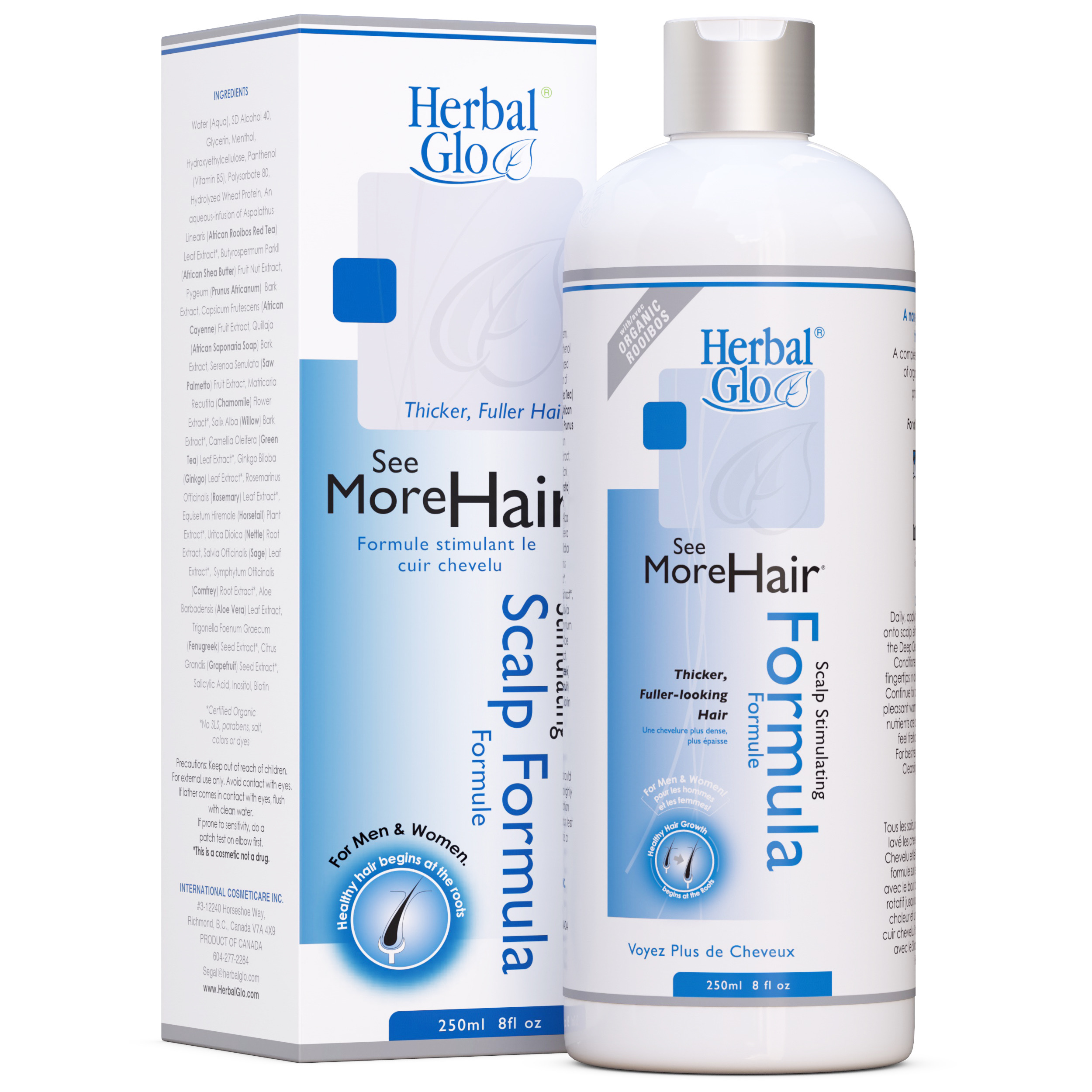 bottle of see more hair scalp stimulating formula