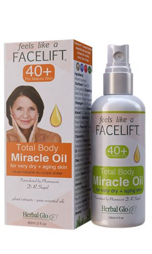 Feels Like a Facelift 40+ Total Body Miracle Oil