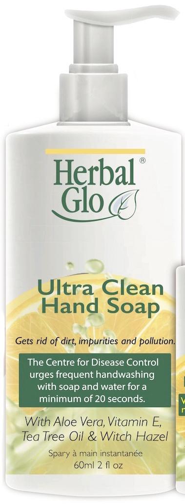 ultra clean hand soap-bottle
