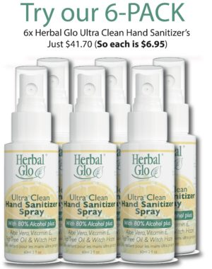 Ultra Clean Hand Sanitizer Spray 6-Pack