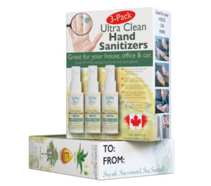 Ultra Clean Hand Sanitizer Spray 3-Pack