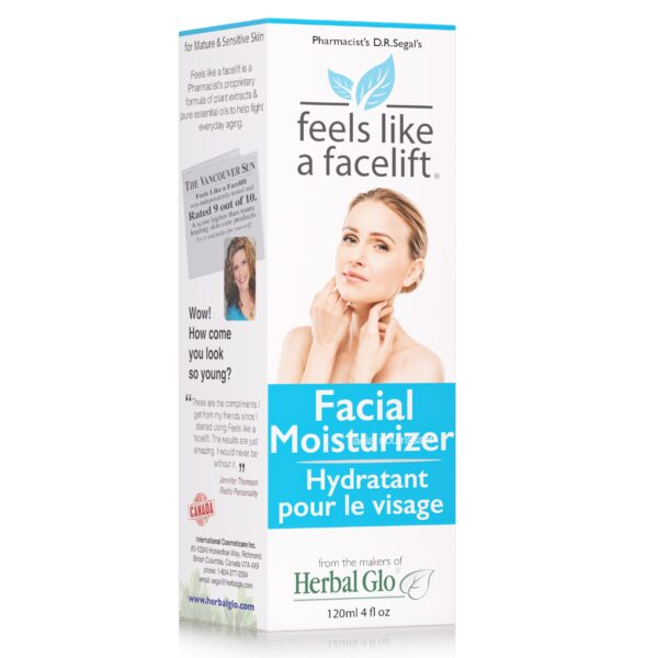 box of feels like a facelift facial moisturizer