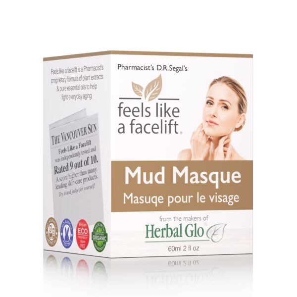 box of feels like a facelift mud masque