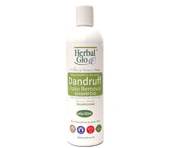 bottle of dandruff shampoo
