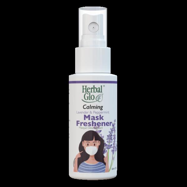 bottle of calming mask freshener spray