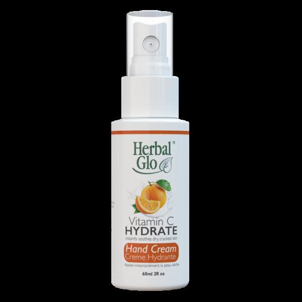 bottle of vitamin c hand cream